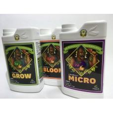 Комплект pH Perfect Bloom/Grow/Micro Advanced Nutrients 0,5L